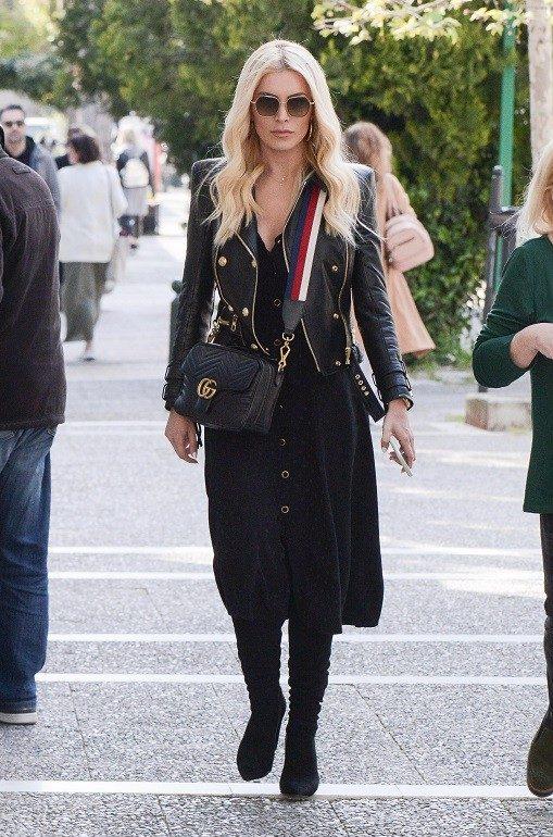 5cbc93dbc8 H Gucci τσάντα της Κατερίνας Καινούργιου είναι μια συνετή επένδυση ...